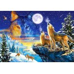 Puzzle Castorland Howling Wolves 1000 piese
