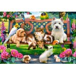 Puzzle Castorland Pets in the Park 1000 piese