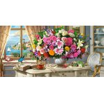 Puzzle Castorland Summer Flowers And Cup Of Tea 4000 piese