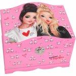 Cutie bijuterii cu luminite roz Miju and Candy Depesche PT10947 Top Model