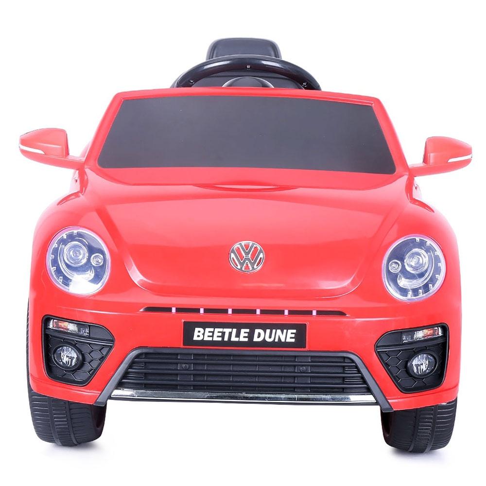 Masinuta electrica Chipolino Volkswagen Beetle Dune Convertible red
