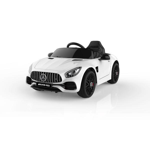 Masinuta electrica Mercedes-Benz AMG GT alb 12V