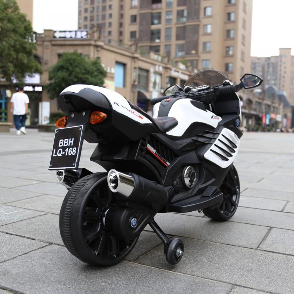 Motocicleta electrica LQ168 BIG white