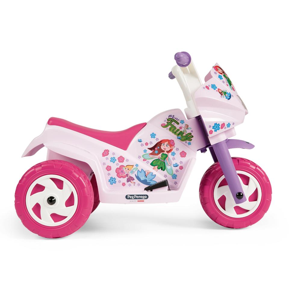 Motocicleta electrica Peg Perego Ducati Mini Fairy 6V 1 an + rozmov