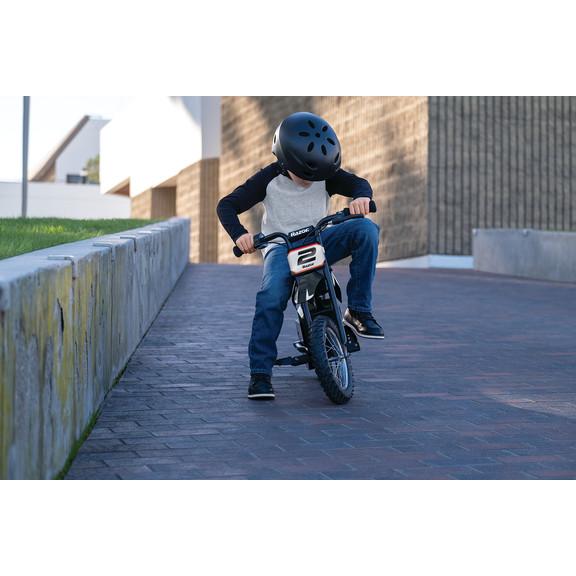 Motocicleta electrica pentru copii +7 ani Razor MX125 Dirt Rocket NegruRosu