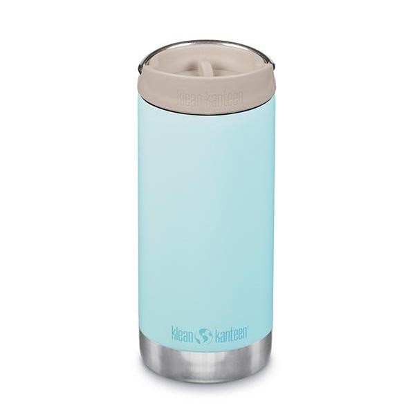 Termos TKWide din otel inoxidabil 355 ml cu capac Klean Kanteen Blue Tint