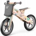 Bicicleta din lemn fara pedale Ricokids rc 610 gri
