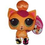 Jucarie din plus si material textil neon Kitty, L.O.L. Surprise! pets 20 cm