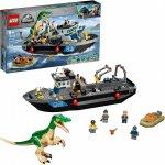 Lego Jurassic World evadarea cu barca a dinozaurului Baryonyx