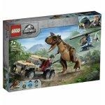 Lego Jurassic World urmarirea dinozaurului Carnotaurus