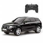 Masina cu telecomanda Audi Q5 negru cu scara 1 la 24