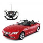 Masina cu telecomanda BMW Z4 rosu cu scara 1 la 12