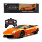 Masina cu telecomanda Lamborghini Murcielago LP670 portocaliu cu scara 1 la 24