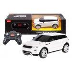 Masina cu telecomanda Range Rover Evoque alb scara 1 la 24