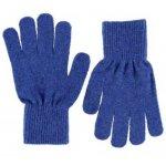 Manusi tricotate cu lana merinos CeLaVi Blue 3-6 ani
