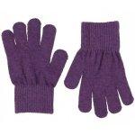 Manusi tricotate cu lana merinos CeLaVi Purple 3-6 ani