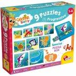 Set puzzle-uri progresive Animalute marine